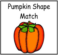 Pumpkin Themed File Folder Games