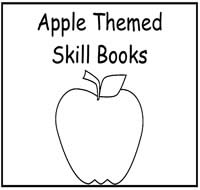 Apple Themed Printable Skill Books