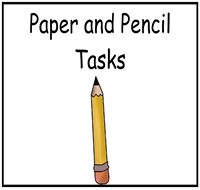 Paper and Pencil Tasks