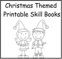 Christmas Themed Printable Skill Books