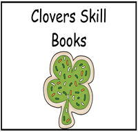 Counting Clovers Skill Book