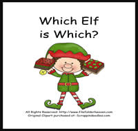 Which Elf is Which Riddle Book