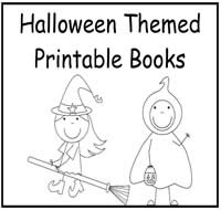 Halloween Themed Printable Skill Books