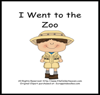 I Went to the Zoo Sequencing Story