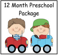 12 Month Prechool Package