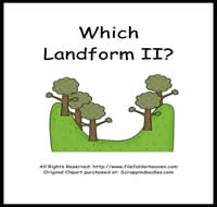 Which Landform is Which II Riddle Book